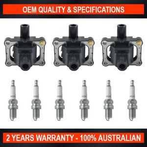Pack of SWAN Ignition Coils & NGK Spark Plug for Mercedes Benz 300E (2.8L)