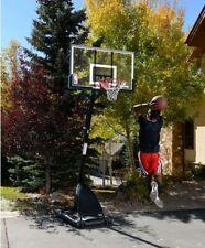 "�Spalding Nba 54"" Portable Angled Basketball Hoop with Polycarbonate Backboard"