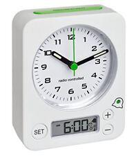 Réveil Radiopiloté(e) TFA 60.1511.02 Analogique Blanc