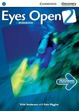 Eyes Open Level 2 Workbook with Online Practice, Anderson, Vicki, Very Good cond