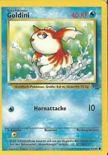 Pokemon Sammelkarte 53/64 Goldini Dschungel  deutsch MINT NM/M