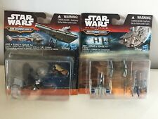 Star Wars Micro Machines X-Wing Dogfight & Endor Forest Battle New