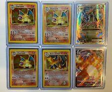 1999 Pokemon Base Set Charizard 4/102 Vintage Card Lot
