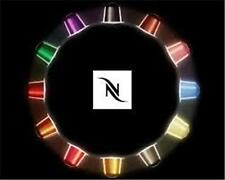 BEST PRICE 50 CENTS - 320 GENUINE NESPRESSO COFFEE CAPSULES PODS -16 FLAVOR PACK