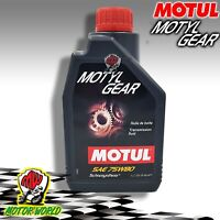 MOTUL Motyl Gear 75W80 Oil Transmissions Gear Differentials Bee GL-4 GL-5 1 L