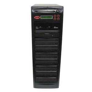 SySTOR 1-7 USB/SD/CF/MS/MMC MultiMedia Backup Copier to CD DVD Duplicator