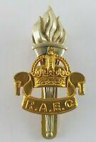 Royal Army Educational Corps Cap Badeg With Slider to Rear - Bi Metal Gaunt Lond