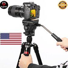 Professional Flexible Aluminum Camera Tripod Stand Monopod Tripod Head for Canon