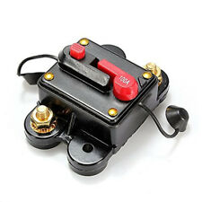12V 100 Amp Manual Reset Circuit Breaker Car Boat Power Protection Fuse Holder