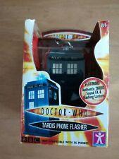 RARE DOCTOR DR WHO TARDIS PHONE FLASHER IN ORIGINAL BOX