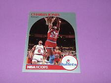 299 CHARLES JONES WASHINGTON BULLETS 1990 NBA CARD HOOPS BASKETBALL