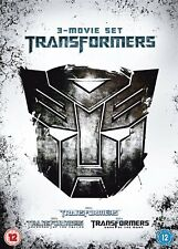 3 Dvd Box Set - Transformers, Revenge Of The Fallen, Dark Of The Moon - cert 12
