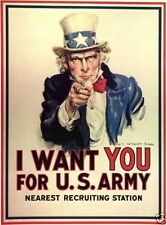 United States Army 1914-1945 Collectable WWI Military Prints