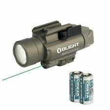 Olight Baldr Pro Green Laser and LED Light Combo 1350 Lumen Flashlight Tan