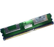 HP 4GB (1x4GB) 2Rx4 DDR3 PC3-10600 1333 Mhz REG ECC 240pin FRU P/N: 500203-061
