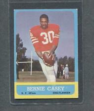 1963 Topps Football #137 Bernie Casey RC (49'ers) (Purple)  Ex  (Flat Rate)