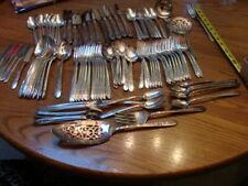 silverware/flatware  nobility  plate  set for 12    royal rose