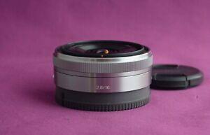 Sony SEL 16mm F2.8 Wide Angle 16mm AF Lens - E Mount  PRIME - Superb 2178C