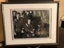 STAR TREK 2 ALL CAST PHOTO SIGNED Shatner Nimoy Kelly Doohan Nichols Takei COA