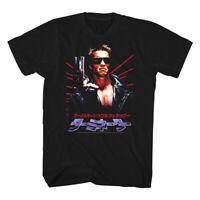 Terminator Japanese Movie Poster Men's T Shirt Arnold Schwarzenegger Laser Japan