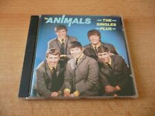 CD The Animals - The Singles Plus - 1987 - 20 Songs