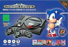 SEGA MEGA DRIVE FLASHBACK HD mit SD/MMC-Kartenslot KONSOLE + SPIELE AT-GAMES TOP