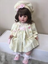 Nib Coa Susan Wakeen Butterfly Kisses 20� Doll Numbered 428/500 Coa
