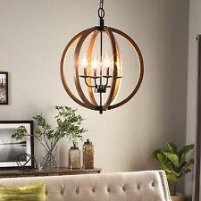 Round Rustic Chandeliers wood chandeliers | ebay