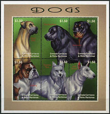 Dogs Postage Grenadian Stamps (1974-Now)
