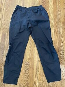 Patagonia H2no Mens Torrentshell Waterproof Pants- Size Medium Or Large Black