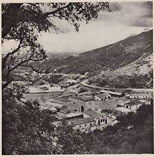 D5408 Montevecchio - Miniere di Blenda - Stampa d'epoca - 1938 vintage print