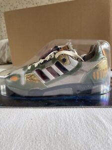Adidas Star Wars Boba Fett ZX 800 UK 8 BNIB Vintage Trainers Sneakers