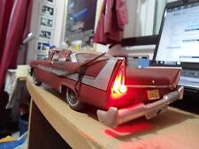 1/18 CHRISTINE *MOVIE ACCURATE* 1958 PLYMOUTH FURY DIRTY MOPAR 1957 STEPHEN KING