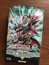 Konami Yugioh 1st Edition Sealed Order of the Spellcasters Structure Deck