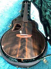 McPherson 4.5XPH Guitar Wenge w/ Flamed Black Redwood Top &  RTS II Pick up MINT