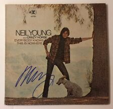 Neil Young Signed Everybody Knows This Is Nowhere Vinyl LP JSA LOA # Z08582 Auto