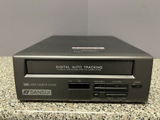 Sansui Vcp0045 Vcp Video Cassette Player Vhs Player