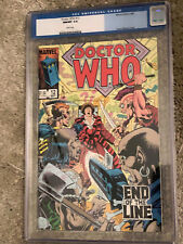 DOCTOR WHO #12 cgc 9.8 - Featuring The 4th Doctor - Marvel Comics 1985