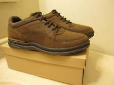 Rockport Walking Shoes Womens Sz 8-1/2 W  Brown Suede WWT17
