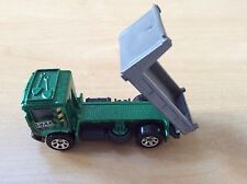Matchbox New Toy Model Truck Lorry Pit King Green Cab Grey Back Unboxed