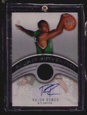 Rajon Rondo 2006-07 SP Authentic JERSEY PATCH Auto Rookie #/30! SSP! L.A. Lakers