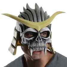 Shao Kahn Mask Mortal Kombat Fancy Dress Halloween Adult Costume Accessory