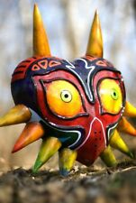 Majora's Mask Replica Prop Display Legend of Zelda LOZ Larping Kickstarter Riley