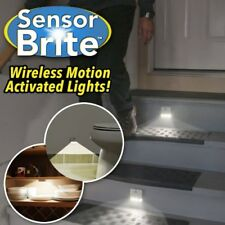 Sensor Brite Motion Activated LED Lights Stair Lights 2-Pack As Seen On TV