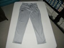 "Under Armour Men's Cold Gear Gray Sweatpants Size L Waist 32""-34"" Inseam 31"""