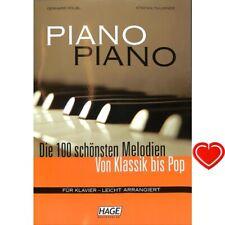 Piano Piano 1 leicht arrangiert - Noten für Klavier + Herzklammer 3633