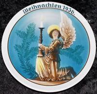 """1936 ROSENTHAL WEIHNACHTSTELLER """"LICHTBOTE / HEINRICH FINK"""" TOP 1. WAHL"""