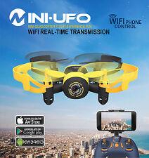MINI DRONE QUADRICOTTERO CON TELECAMERA MINI UFO FPV WIFI JXD 512W  MINI DRONE