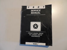 Service manual  Town & Country Grand / Voyager Caravan 1991 Werkstatthandbuch
