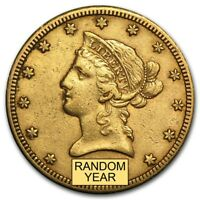 SPECIAL PRICE! $10 Liberty Gold Eagle XF (Random Year) - SKU #160047